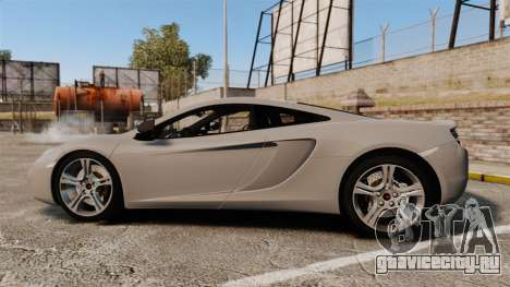 McLaren MP4-12C 2012 [EPM] для GTA 4 вид слева