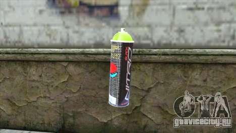 Montana Nitro Spray для GTA San Andreas