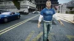 Vin Diesel Wheelman для GTA 4