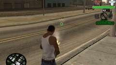 C-HUD by Tyler для GTA San Andreas