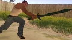 Стеклянный меч из Skyrim