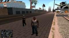C-Hud Eazy-E для GTA San Andreas