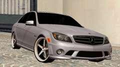 Mercedes-Benz C63 седан для GTA San Andreas