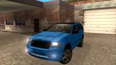 Jeep Grand Cherokee SRT8 Restyling M для GTA San Andreas