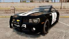 Chevrolet Camaro Police [ELS-EPM] для GTA 4