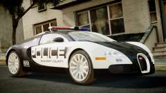 Bugatti Veyron 16.4 Police NFS Hot Pursuit для GTA 4