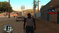 C-HUD (LSPD) для GTA San Andreas
