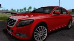 Mercedes-Benz W222 для GTA San Andreas