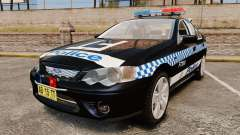 Ford BF Falcon XR6 Turbo Police [ELS] для GTA 4