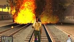 C-HUD Crime Ghetto для GTA San Andreas