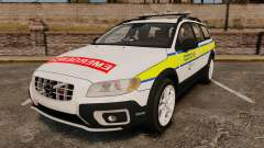 Volvo XC70 Emergency Response Unit [ELS] для GTA 4