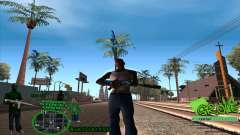 C-HUD Groove by HARDy для GTA San Andreas