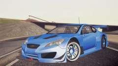 Hyundai Genesis Coupe 2010 Tuned для GTA San Andreas