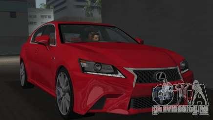 Lexus GS350 F Sport 2013 для GTA Vice City