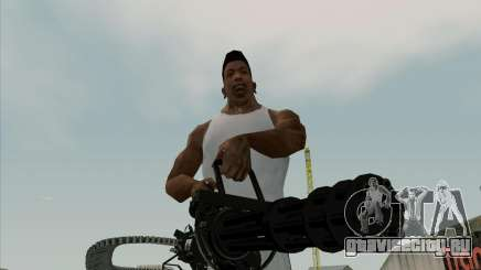 Renegades Minigun Black для GTA San Andreas