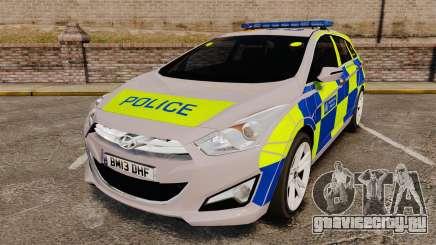Hyundai i40 2013 Metropolitan Police [ELS] для GTA 4
