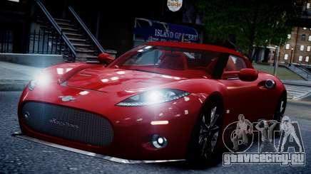 Spyker C8 Aileron Spyder v2.0 для GTA 4