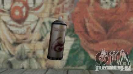 Montana Gold Spray для GTA San Andreas