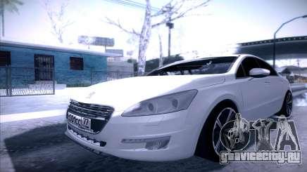 Peugeot 508 2011 v2 для GTA San Andreas
