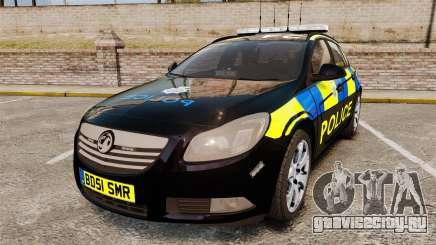 Vauxhall Insignia Sports Tourer Police [ELS] для GTA 4