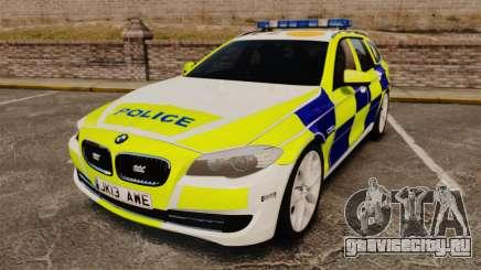 BMW 530d Touring Lancashire Police [ELS] для GTA 4