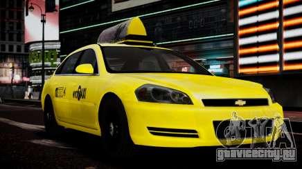 Chevrolet Impala  2006 Такси для GTA 4