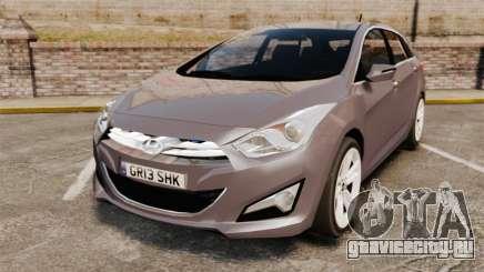 Hyundai i40 2013 Unmarked Police [ELS] для GTA 4