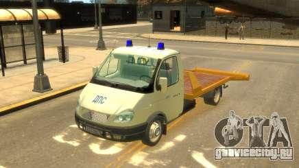 Газель Эвакуатор ДПС для GTA 4