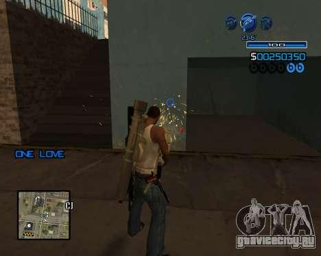 C-HUD Minimal для GTA San Andreas четвёртый скриншот