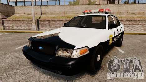 Ford Crown Victoria Japanese Police [ELS] для GTA 4
