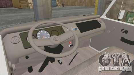 Volkswagen Kombi 1999 для GTA 4 вид сзади