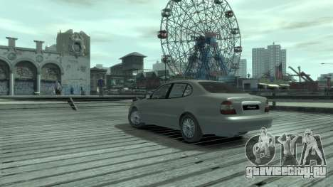 Daewoo Leganza для GTA 4 вид сзади слева