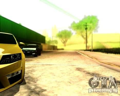 Skoda Octavia A7 RS для GTA San Andreas вид сзади
