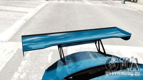 BMW Z4 GT3 2012 для GTA 4 вид сбоку