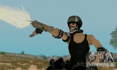 SWAT GIRL для GTA San Andreas третий скриншот