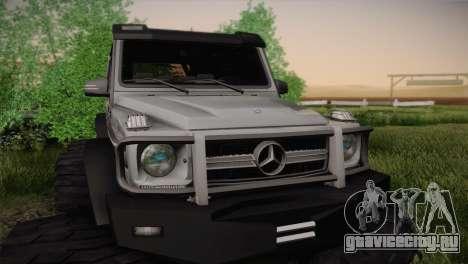 Mercedes-Benz G63 AMG 6X6 для GTA San Andreas вид сзади