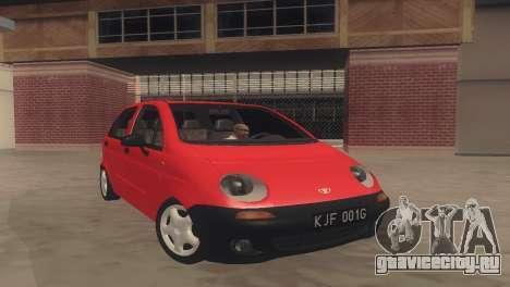 Daewoo Matiz I SE 1998 для GTA San Andreas