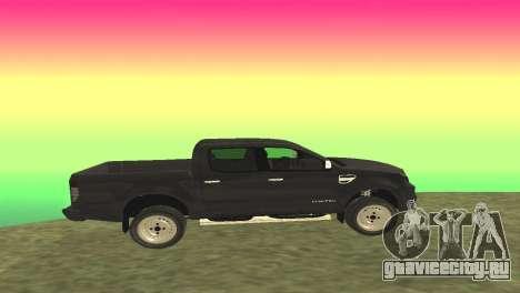 Ford Ranger Limited 2014 для GTA San Andreas вид слева