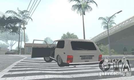 ВАЗ 21214 Avtosh для GTA San Andreas вид сбоку