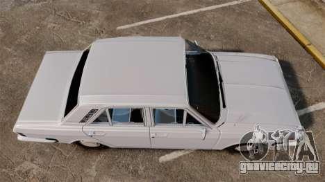 IKCO Paykan 1970 для GTA 4 вид справа