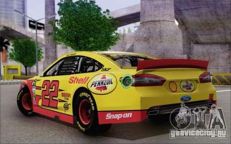 Ford Fusion NASCAR Sprint Cup 2013 для GTA San Andreas вид слева