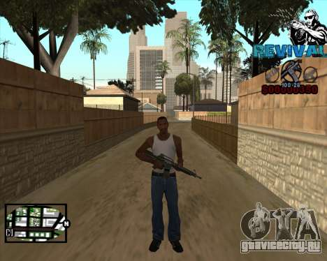 S-HUD-Revival-DM By Mario_Nostra для GTA San Andreas