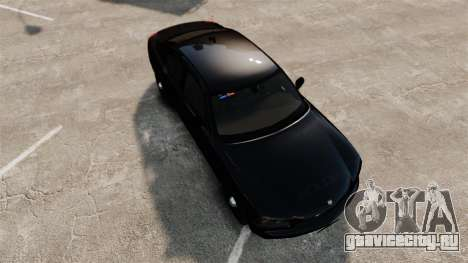 Dodge Charger Slicktop Police [ELS] для GTA 4 вид справа