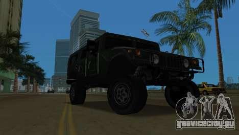 Hummer H1 Wagon для GTA Vice City вид слева