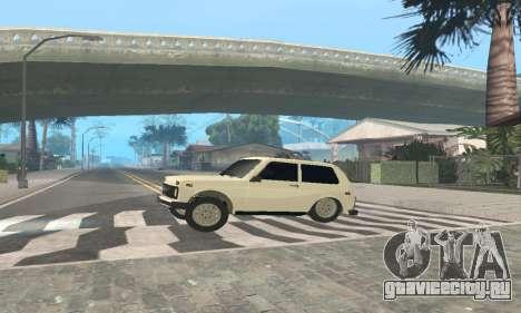 ВАЗ 21214 Avtosh для GTA San Andreas вид сзади