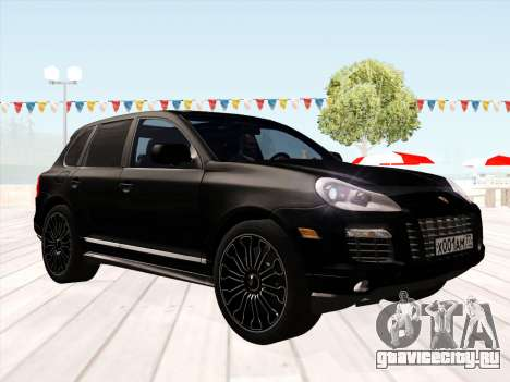Porsche Cayenne Turbo S 2010 Stock для GTA San Andreas вид слева