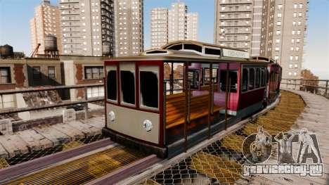 Трамвай из San Andreas для GTA 4 третий скриншот