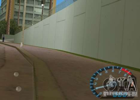 Спидометр из NFS Underground для GTA Vice City второй скриншот