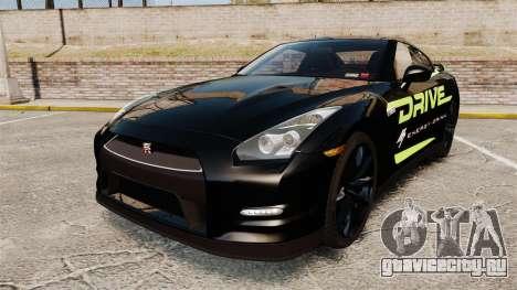 Nissan GT-R Black Edition 2012 Drive для GTA 4
