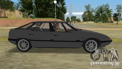 Citroen XM для GTA Vice City вид сзади слева